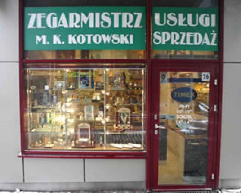 Watchmaker M.K. Kotowski