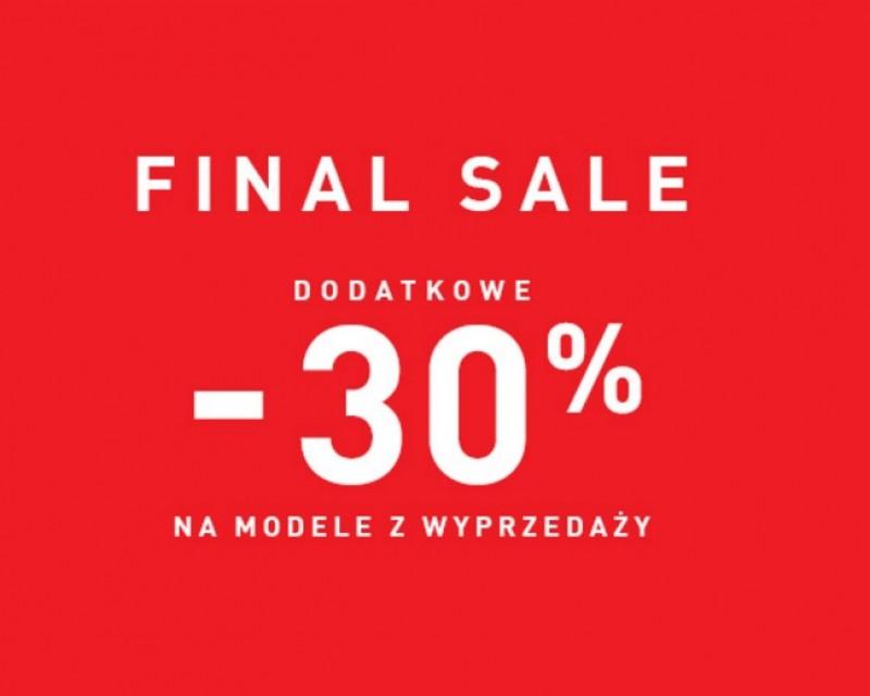 FINAL SALE w salonie Reserved – dodatkowe -30% na modele z wyprzedaży