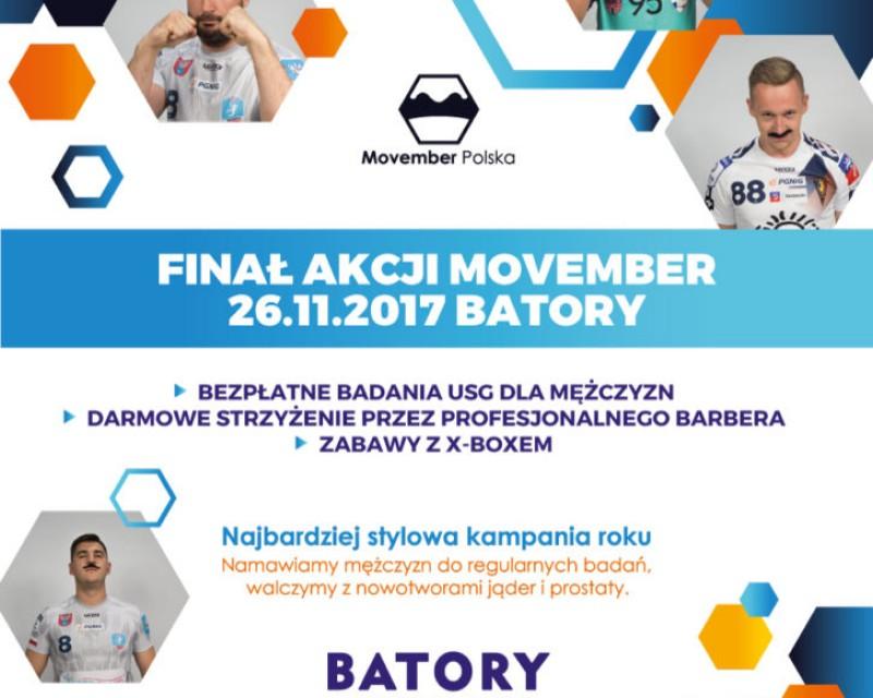 Finał Akcji Movember w BATORYM